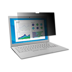 """3M™ Frameless Blackout Privacy Filter for 14.1"""" Widescreen Laptop, 16:10 Aspect Ratio"""