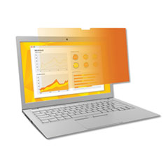 """3M™ Gold Frameless Privacy Filter for 14"""" Widescreen Laptop, 16:9 Aspect Ratio"""