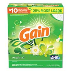 Gain® Powdered Laundry Detergent, Original Scent, 91 oz Box, 3/Carton