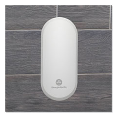 "Georgia Pacific® Professional ActiveAire Passive Whole-Room Freshener Dispenser, 3.22"" x 4.06"" x 6.83"", White"