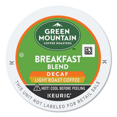 Green Mountain Coffee® Breakfast Blend Decaf Coffee K-Cups®