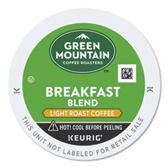 Breakfast Blend Coffee K-Cup Pods, 24/Box