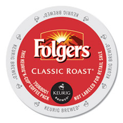 Folgers® Gourmet Selections Classic Roast Coffee K-Cups, 96/Carton