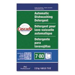 Cascade® Automatic Dishwasher Powder, Fresh Scent, 75 oz Box