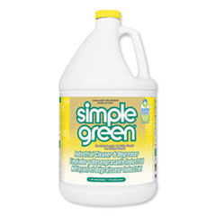 Simple Green® Industrial Cleaner and Degreaser, Concentrated, Lemon, 1 gal Bottle, 6/Carton