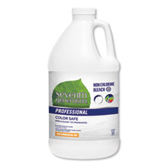 Seventh Generation® Professional Non Chlorine Bleach, Free and Clear, 21 Loads, 64 oz Bottle, 6/Carton