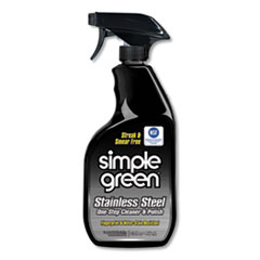 Simple Green® Stainless Steel One-Step Cleaner and Polish, 32 oz Spray Bottle