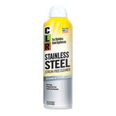 CLR® Stainless Steel Cleaner, Citrus, 12oz Can, 6/Carton