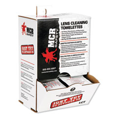 MCR™ Safety Lens Cleaning Towelettes
