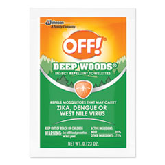 OFF!® Deep Woods Towelette