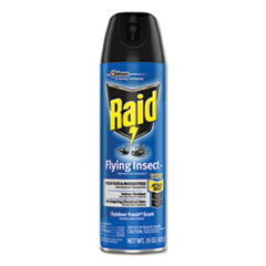 Raid® Flying Insect Killer, 15 oz Aerosol, 12/Carton