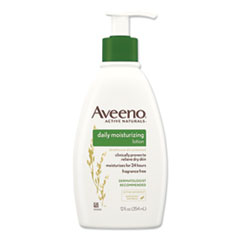 Aveeno® Active Naturals® Daily Moisturizing Lotion, 12 oz Pump Bottle