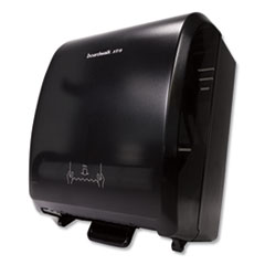 Boardwalk® Xtra Mechanical Hands-Free Towel Dispenser, 12.31 x 9.31 x 15.94, Black