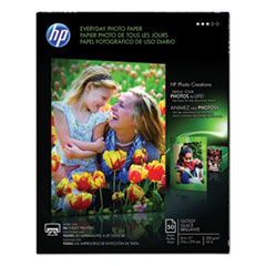 Everyday Photo Paper, 8 mil, 8.5 x 11, Glossy White, 50/Pack