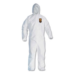 KleenGuard™ A20 Breathable Particle Protection Coveralls, Zip Closure, 3X-Large, White