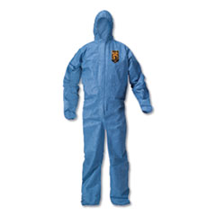 KleenGuard™ A20 Breathable Particle Protection Coveralls, X-Large, Blue, 24/Carton