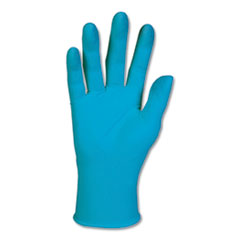 KleenGuard™ G10 Blue Nitrile Gloves, General Purpose, 242 mm Length, Small, 100/Box