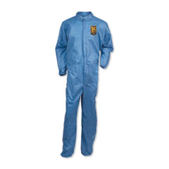 KleenGuard™ A20 Breathable Particle Protection Coveralls, Large, Blue, 24/Carton