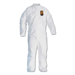 KleenGuard™ A30 Elastic Back Coveralls, 2X-Large, White, 25/Carton