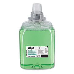 GOJO® Green Certified Foam Hair and Body Wash, Cucumber Melon, 2000 mL Refill, 2/Carton