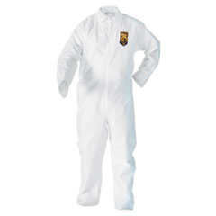 KleenGuard™ A20 Breathable Particle Protection Coveralls, 3X-Large, White, 20/Carton