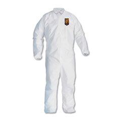 KleenGuard™ A30 Elastic-Back and Cuff Coveralls, White, 2X-Large, 25/Carton
