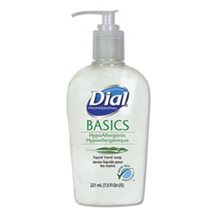 Dial® Professional Basics Liquid Hand Soap, 7.5 oz, Fresh Floral