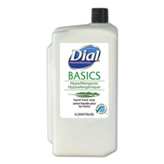 Dial® Professional Basics Liquid Hand Soap, Fresh Floral, 1000mL Refill, 8/Carton