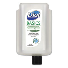 Dial® Professional Basics Liquid Hand Soap, Fresh Floral, 15 oz Cartridge, 6/Carton
