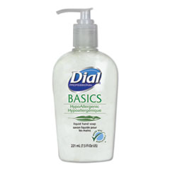 Dial® Professional Basics Liquid Hand Soap, 7.5 oz, Fresh Floral, 12/Carton