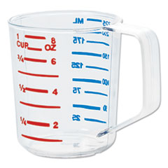 Rubbermaid® Commercial Bouncer Measuring Cup, 8oz, Clear
