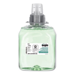 GOJO® Luxury Foam Hair & Body Wash, 1250mL Refill, Cucumber Melon Scent, 3/Carton