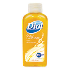 Dial® Professional Gold Antimicrobial Liquid Hand Soap, Floral Fragrance, 2 oz Bottle, 48/Carton