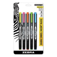 Zebra® Zebrite Eco Double-ended Highlighter Thumbnail