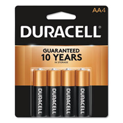 CopperTop Alkaline Batteries, AA, 4/Pack