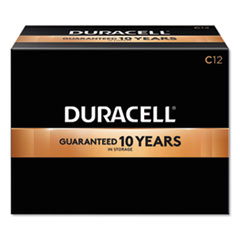Duracell® CopperTop Alkaline C Batteries, 12/Box