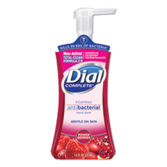 Dial® Antibacterial Foaming Hand Wash, Power Berries, 7.5 oz Pump Bottle