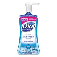 Dial® Antibacterial Foaming Hand Wash, Spring Water, 7.5 oz