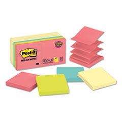 Original Pop-Up Notes Value Pack, 3 X 3, Canary Yellow/cape