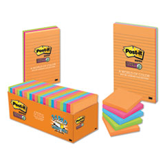 Post-it® Notes Super Sticky Pads in Rio de Janeiro Colors Thumbnail