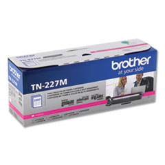 Brother TN227M High-Yield Toner, 2,300 Page-Yield, Magenta