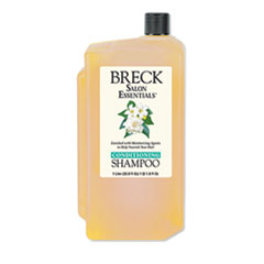 Breck® Shampoo/Conditioner, Pleasant Scent, 1 L Bottle, 8/Carton