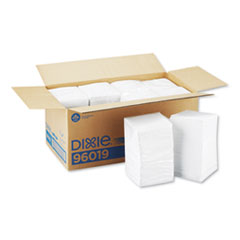 Georgia Pacific® Professional Beverage Napkins, Single-Ply, 9 1/2 x 9 1/2, White, 4000/Carton