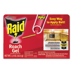 Raid® Roach Gel, 1.5 oz Box, 8/Carton