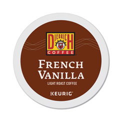 Green Mountain Coffee® French Vanilla K-Cup Pods, French Vanilla, 0.31 oz, K-Cup, 24/Box