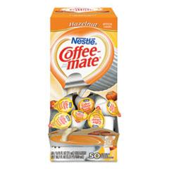 Coffee-mate® Liquid Coffee Creamer, Hazelnut, 0.38 oz Mini Cups, 50/Box