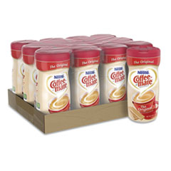 Coffee-mate® Non-Dairy Powdered Creamer, Original, 11 oz Canister, 12/Carton