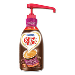 Liquid Creamer Pump Bottle, Salted Caramel Chocolate, 1.5 Liter