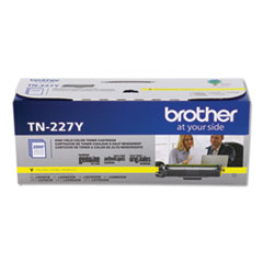 Brother TN227Y High-Yield Toner, 2,300 Page-Yield, Yellow