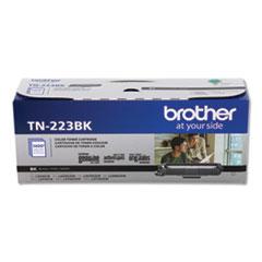 Brother TN223BK Toner, 1,400 Page-Yield, Black